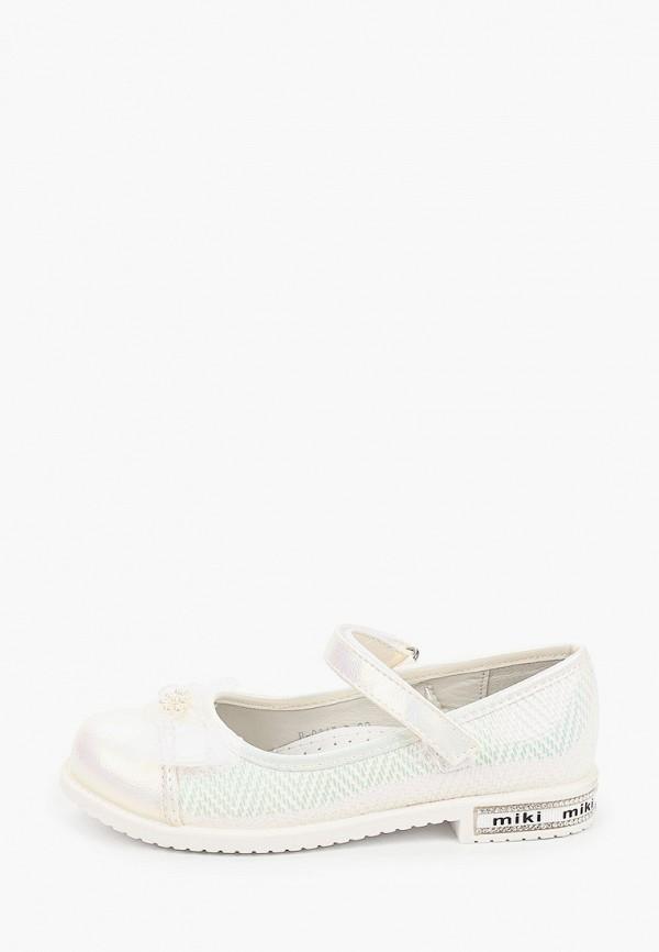 туфли tom-miki для девочки, белые