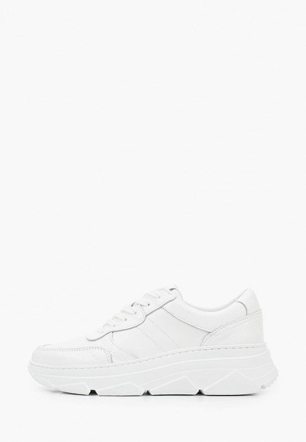 женские низкие кроссовки ps poelman, белые