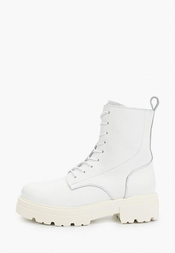 женские ботинки ps poelman, белые