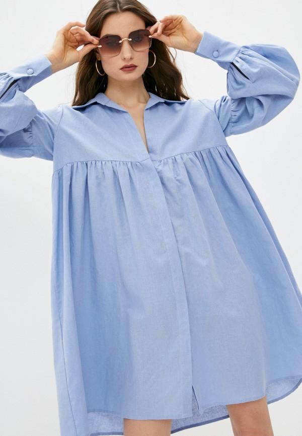 женское платье l'autre chose, голубое