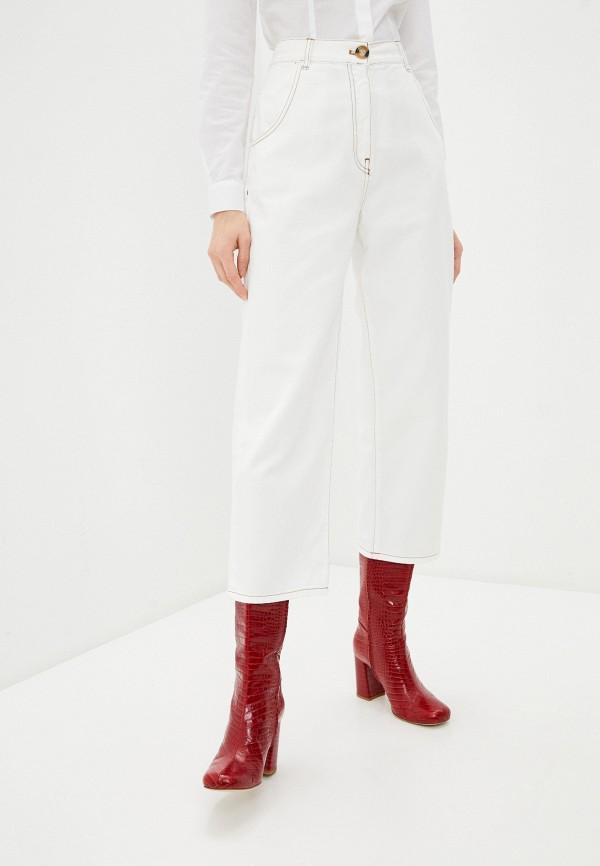 женские джинсы клеш l'autre chose, белые