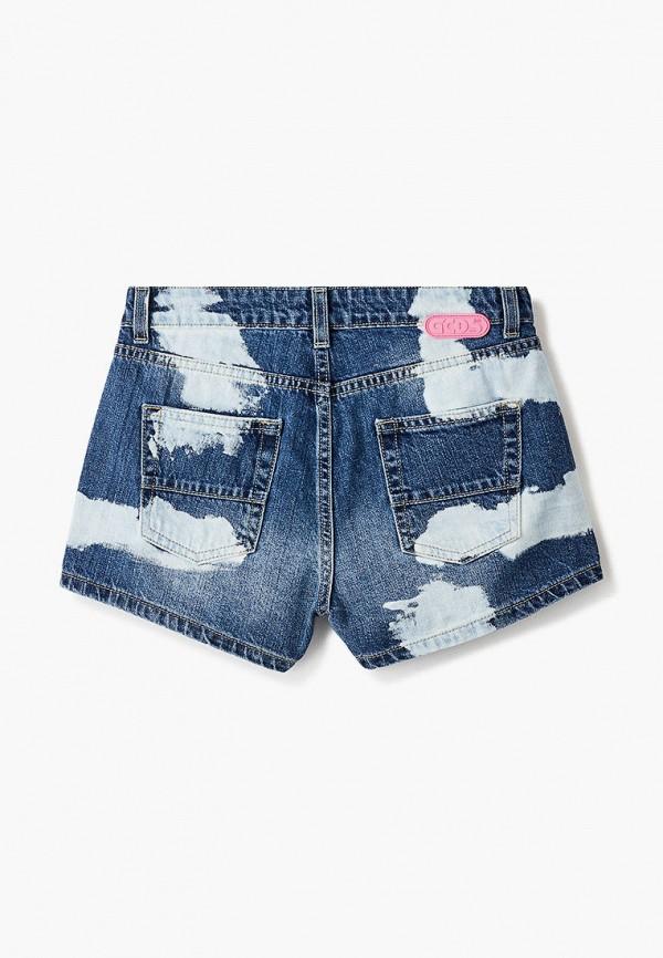 Шорты для девочки джинсовые GCDS Mini 27665 Фото 2