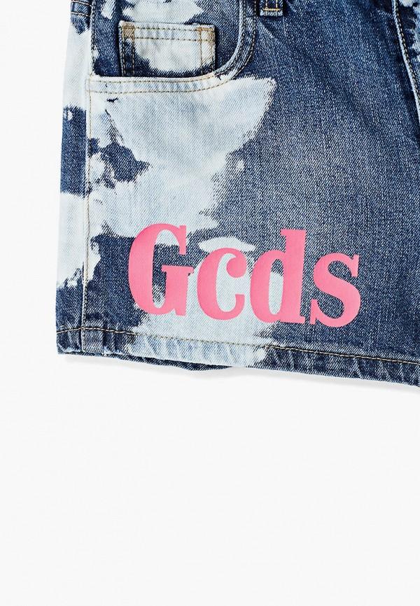 Шорты для девочки джинсовые GCDS Mini 27665 Фото 3