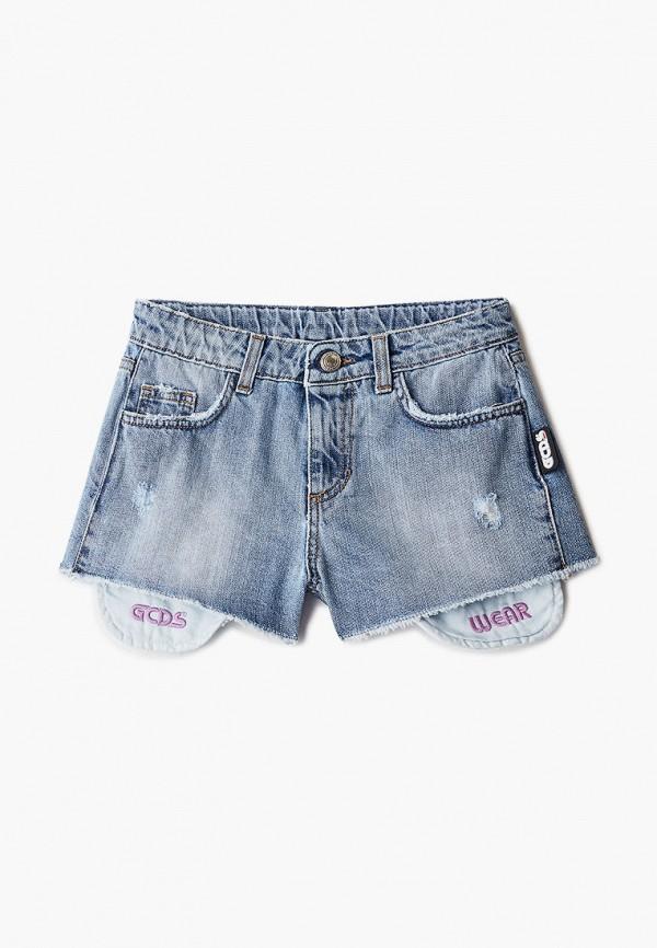 Шорты для девочки джинсовые GCDS Mini 27686
