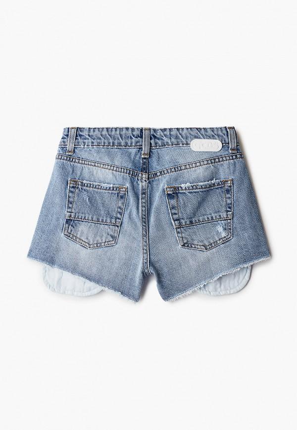 Шорты для девочки джинсовые GCDS Mini 27686 Фото 2