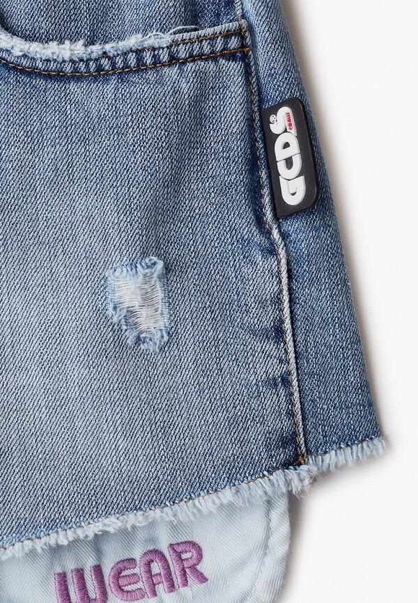 Шорты для девочки джинсовые GCDS Mini 27686 Фото 3