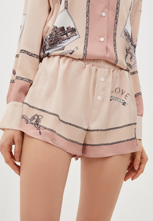 женские шорты love stories, розовые