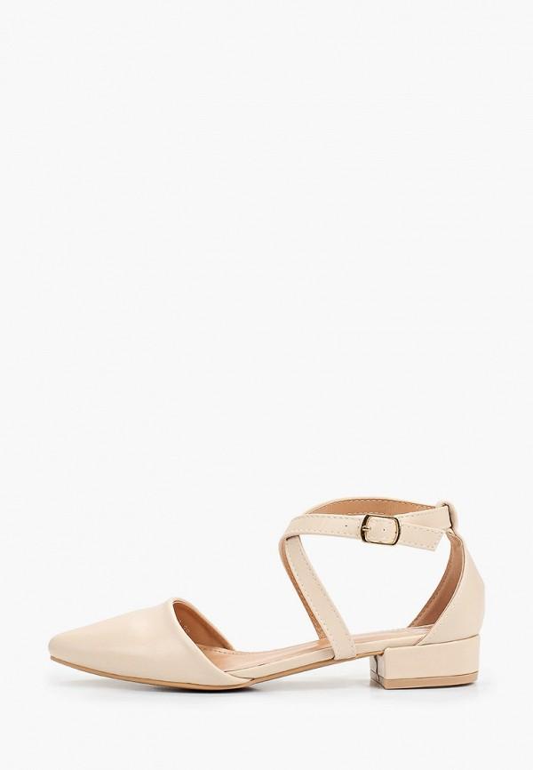 женские туфли sweet shoes, бежевые