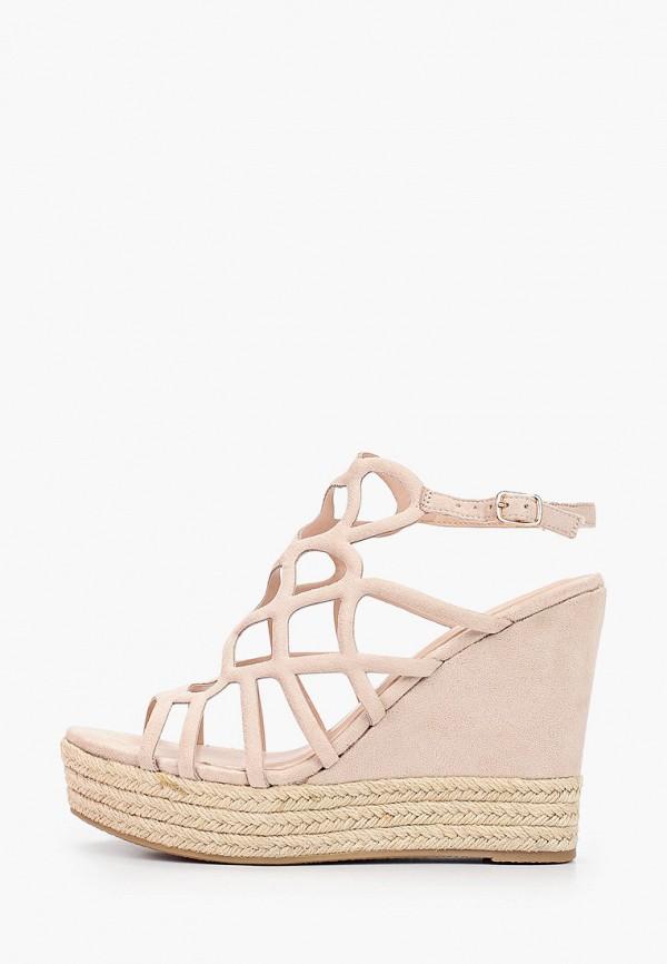 женские босоножки sweet shoes, бежевые
