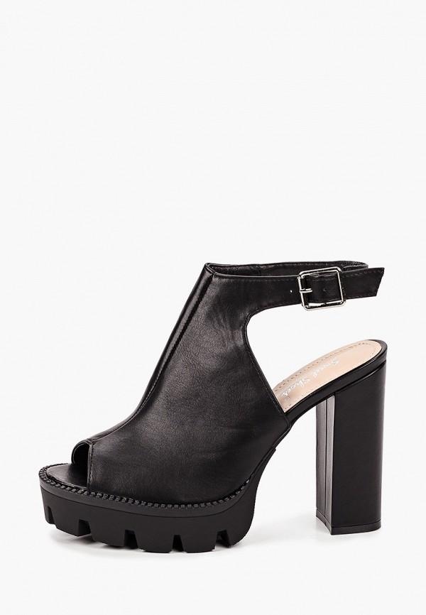 женские босоножки sweet shoes, черные