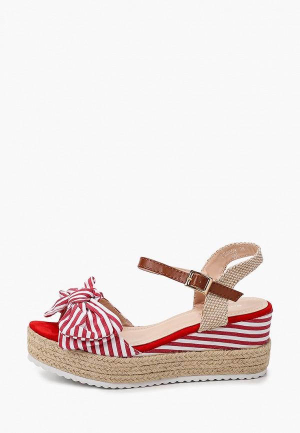 женские босоножки sweet shoes, красные