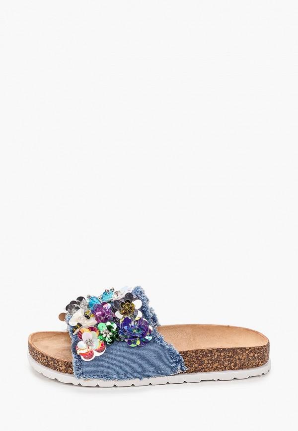 женское сабо sweet shoes, синее