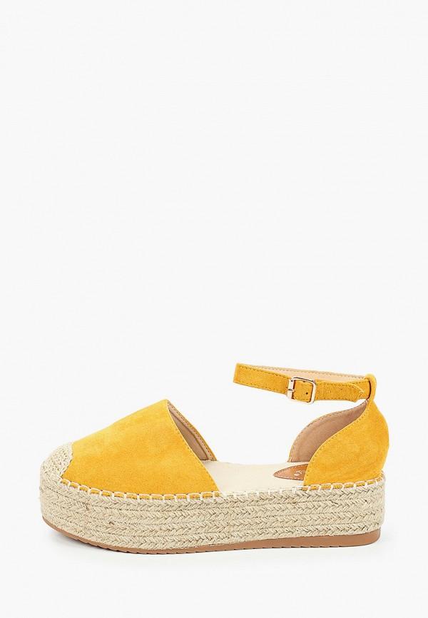 женские эспадрильи sweet shoes, оранжевые