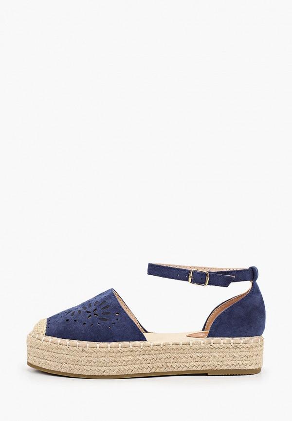 женские эспадрильи sweet shoes, синие