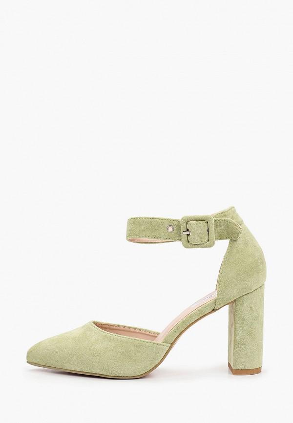 женские туфли malien, зеленые