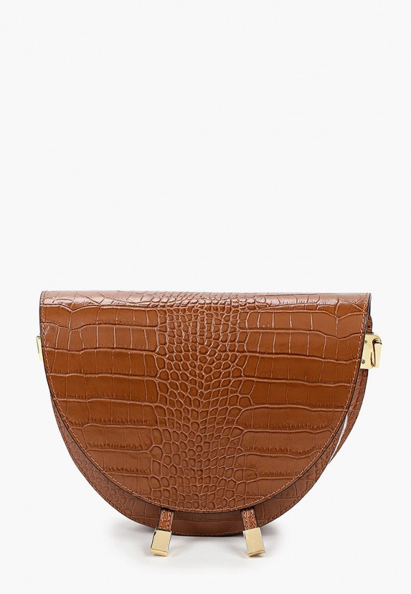 женская сумка wojas, коричневая