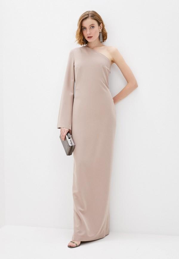 женское вечерние платье fridaymonday, бежевое