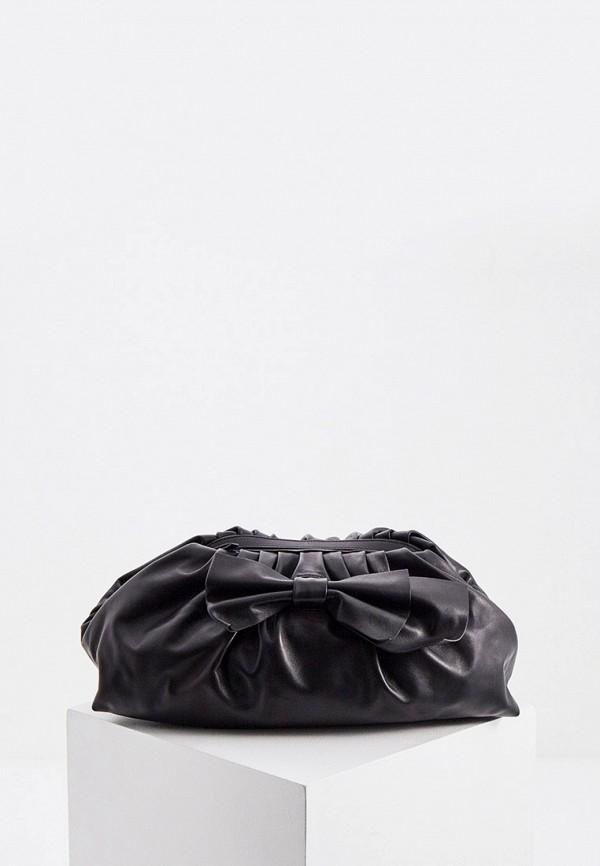 женский клатч red(v), черный
