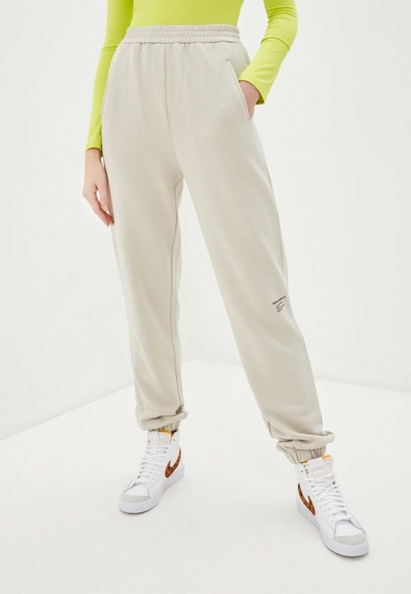женские спортивные брюки miss sixty, бежевые