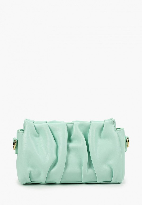 женская сумка через плечо pinkkarrot, бирюзовая
