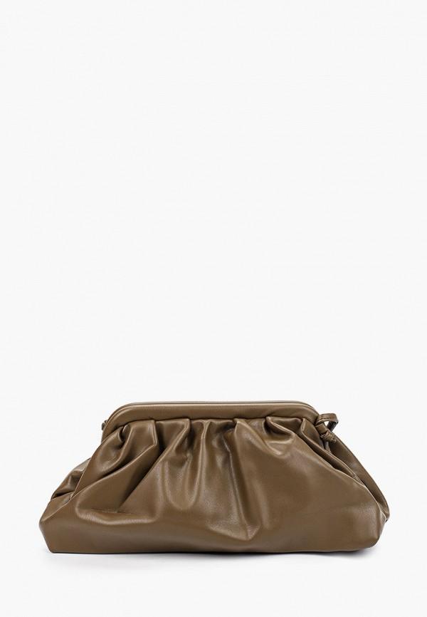 женская сумка через плечо pinkkarrot, хаки