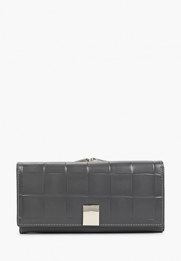 женский кошелёк pinkkarrot, серый