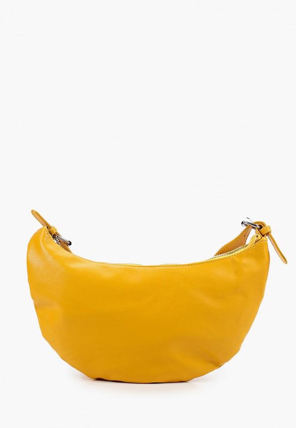 женская сумка через плечо pinkkarrot, желтая