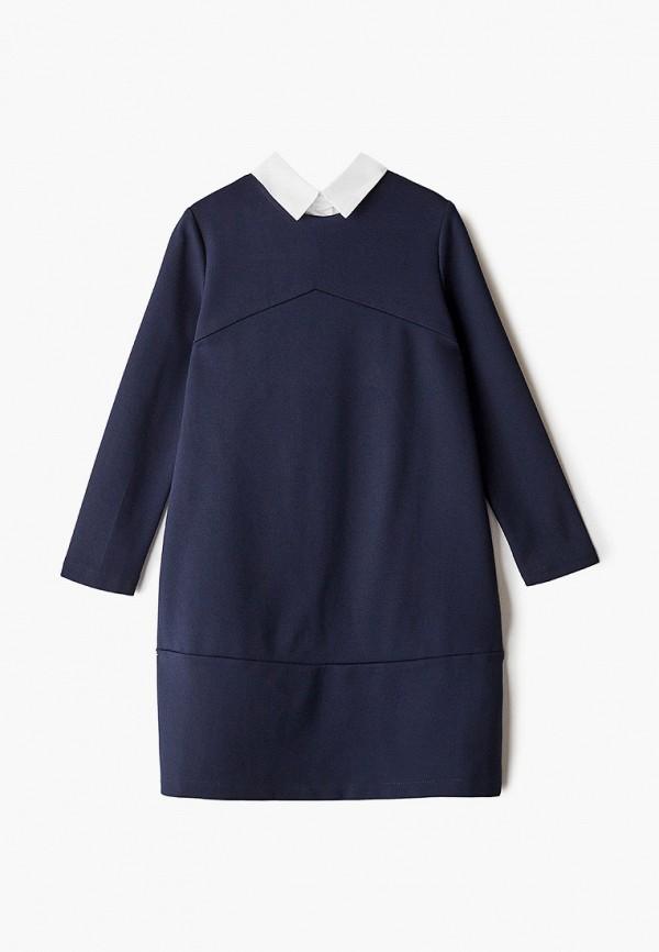 повседневные платье fridaymonday для девочки, синее