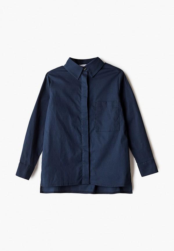 рубашка fridaymonday для девочки, синяя