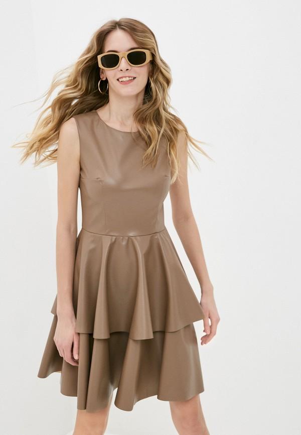 женское платье fridaymonday, бежевое