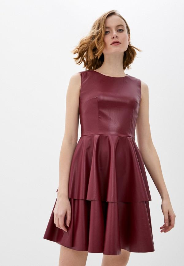 женское платье fridaymonday, бордовое