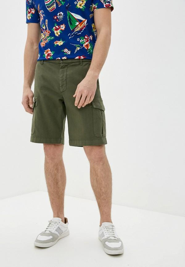 мужские повседневные шорты eleventy, хаки