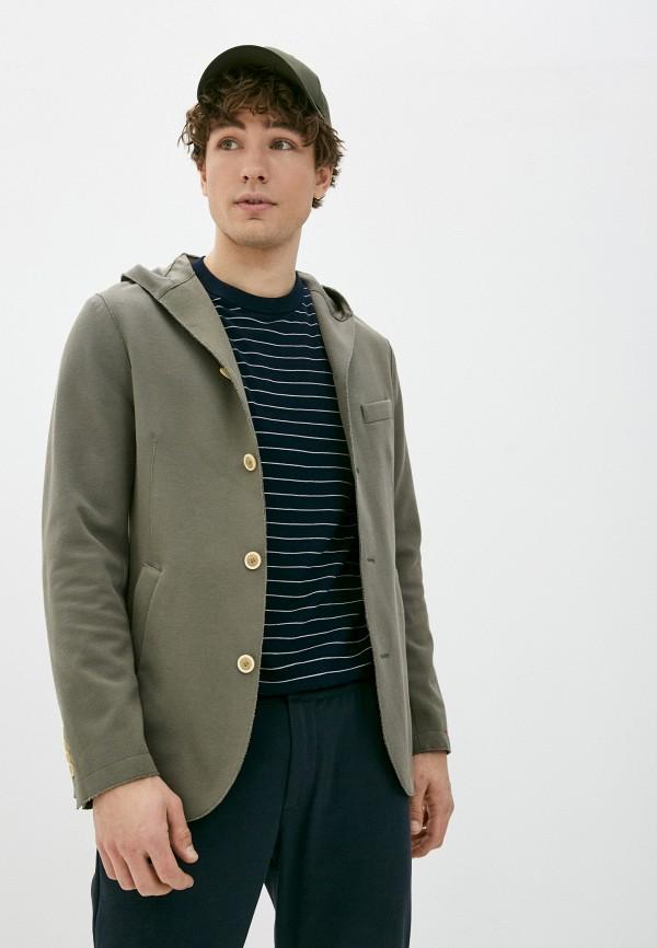 мужской пиджак eleventy, хаки