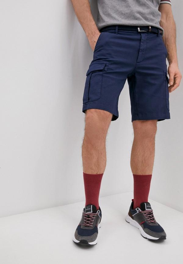 мужские повседневные шорты eleventy, синие
