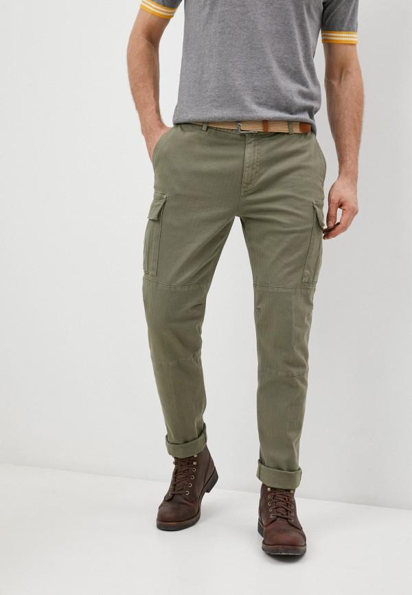 мужские повседневные брюки eleventy, хаки