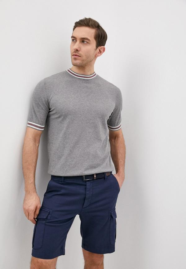 мужской джемпер eleventy, серый