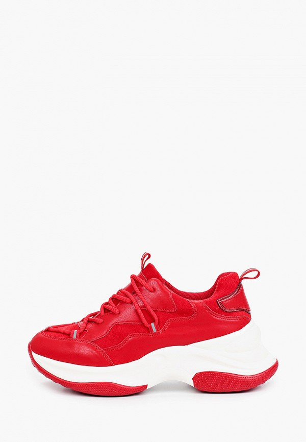 женские низкие кроссовки vivian royal, красные