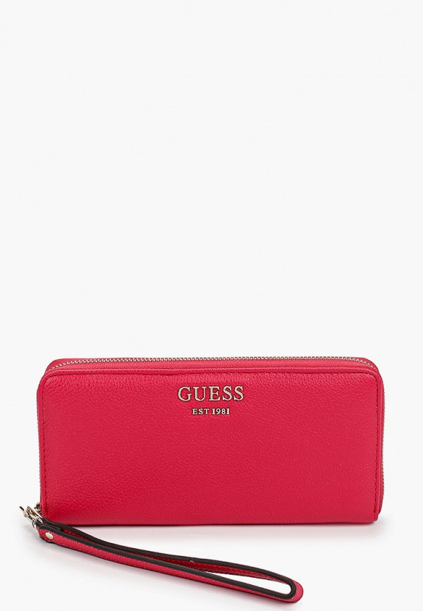 женский кошелёк guess, розовый