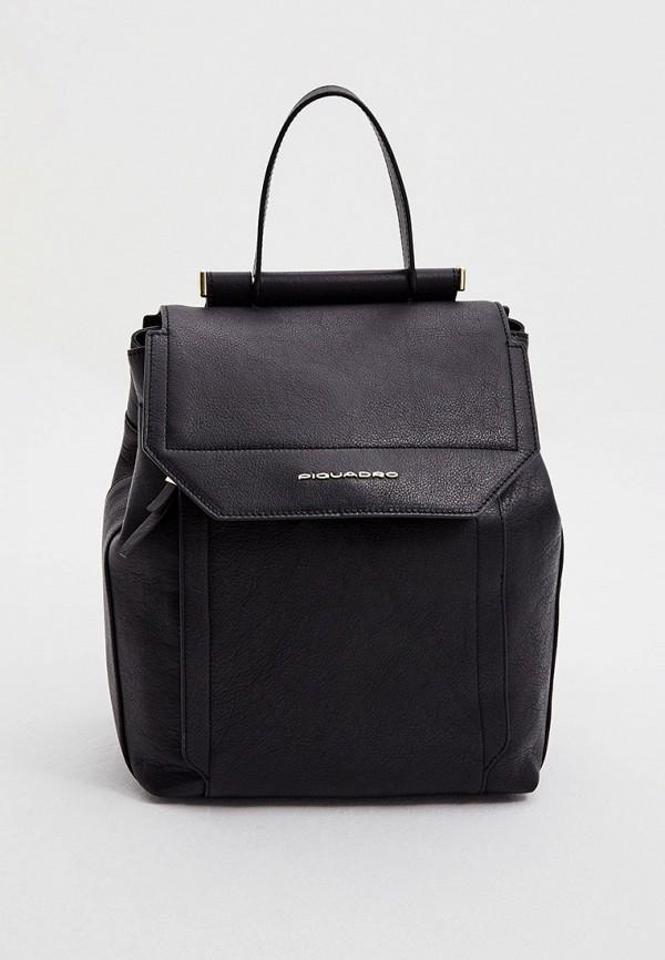 женский рюкзак piquadro, черный