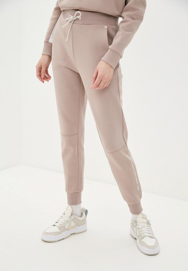 женские спортивные брюки guess, бежевые