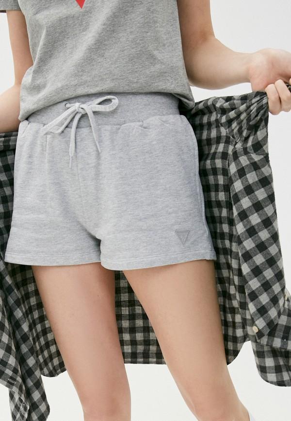 женские спортивные шорты guess, серые