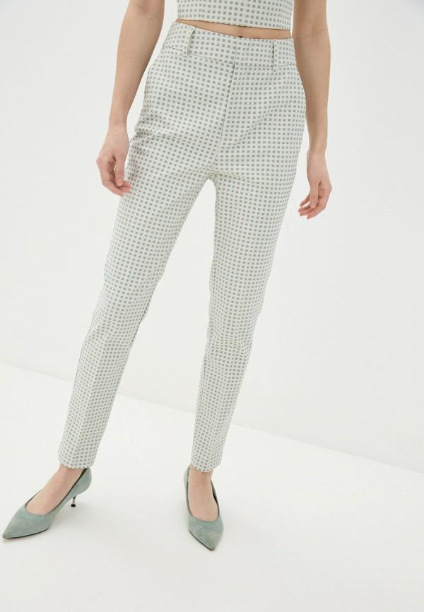 женские повседневные брюки guess, бирюзовые