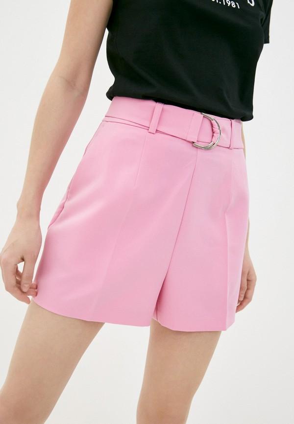 женские повседневные шорты guess, розовые