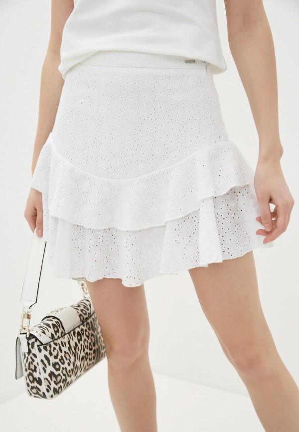 женская юбка guess, белая