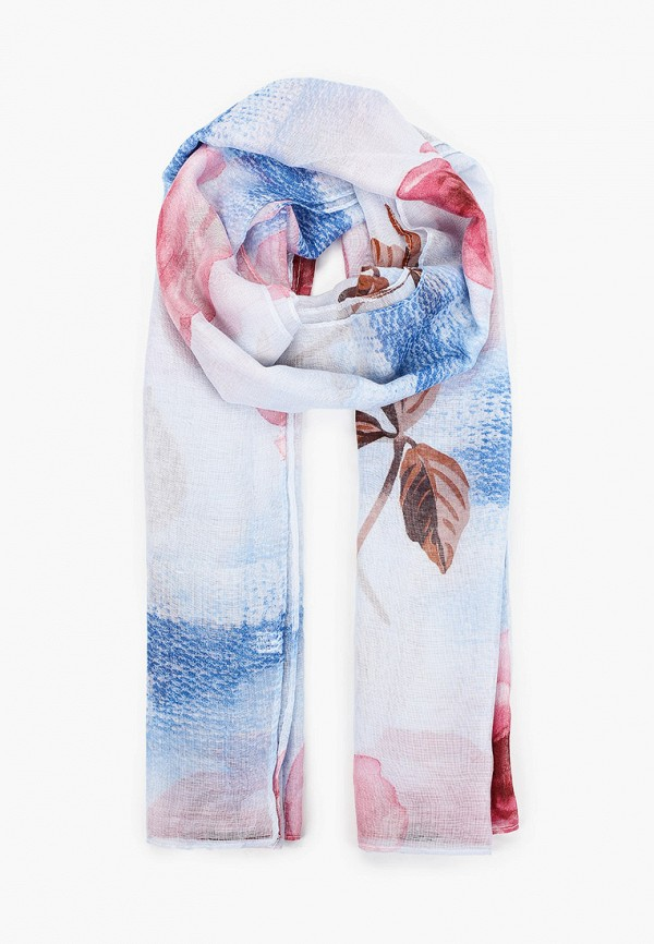 женский палантин venera, голубой