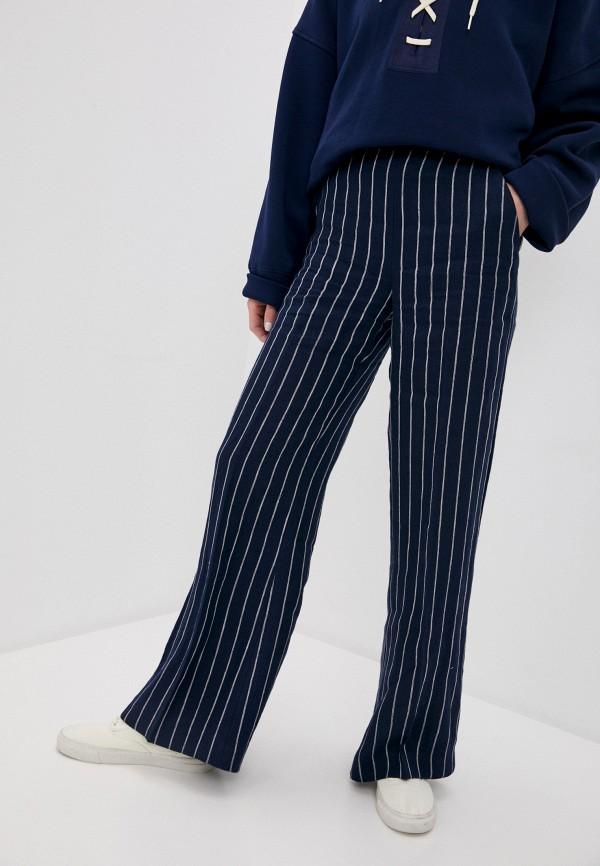 женские повседневные брюки polo ralph lauren, синие