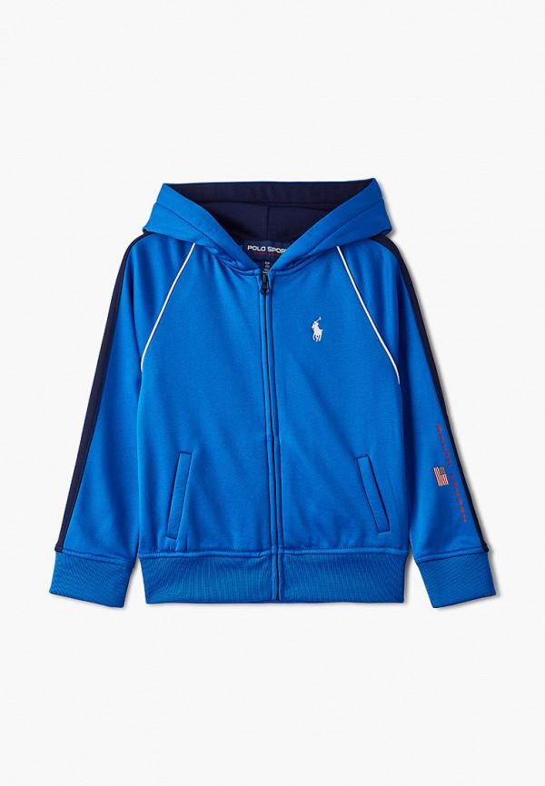 Толстовка Polo Ralph Lauren синего цвета