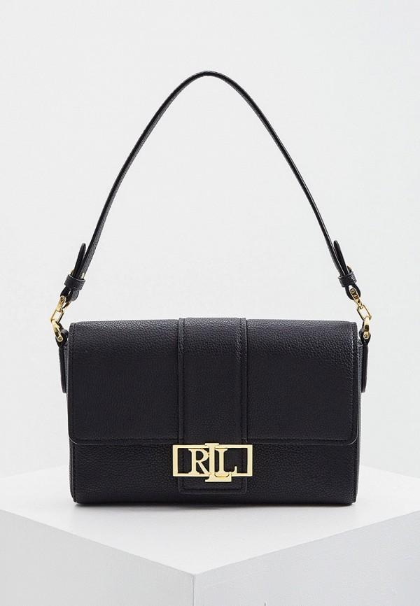 женская сумка lauren ralph lauren, черная