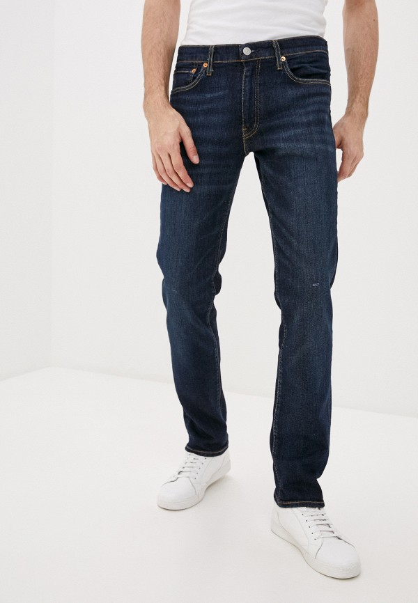 мужские зауженные джинсы levi's®, синие