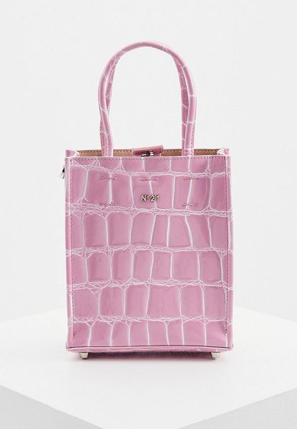 женская сумка n21, розовая
